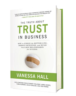 The Truth About Trust in Business (Hard Cover)