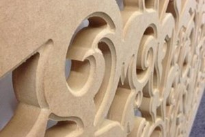 edge detail on routered MDF