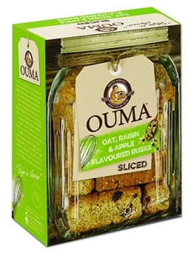 Ouma Breakfast Rusks - Apple