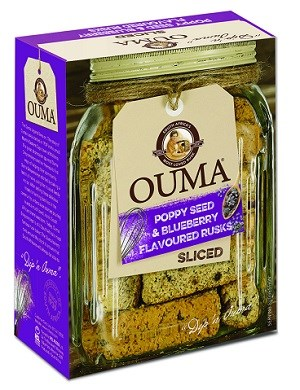 Ouma Breakfast Rusks - Blueberry & Poppy Seed
