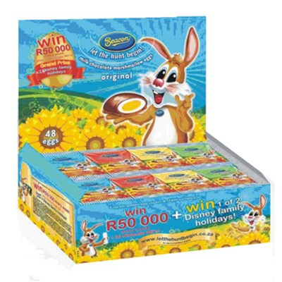 Beacon Easter Marshmallow Eggs - Box 24