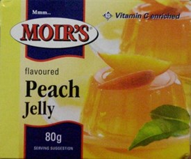 Moirs Jelly - Peach