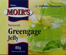 Moirs Jelly - Greengage