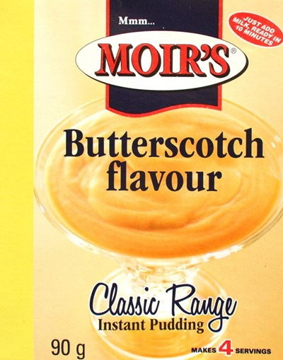Moirs Instant Pudding - Caramel