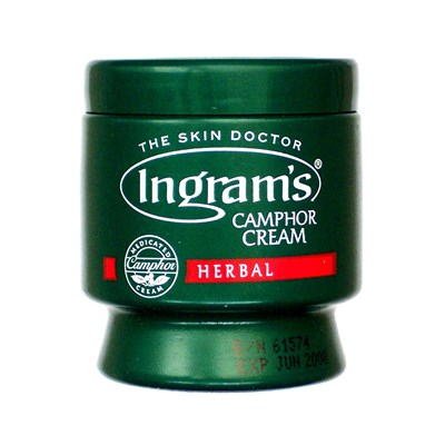 Ingram's Camphor Cream Herbal