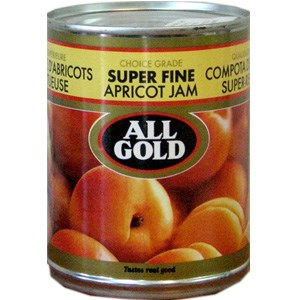 All Gold Apricot Jam - Super Fine