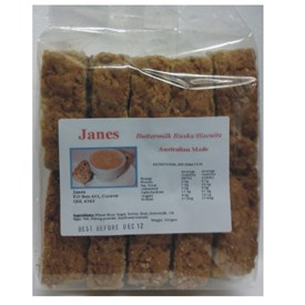 Jane's Rusks - Buttermilk