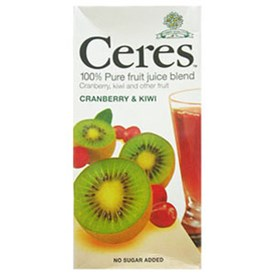 Ceres Juice  - Cranberry & Kiwi Twist