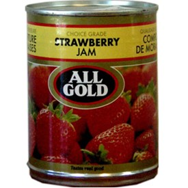 All Gold Strawberry Jam