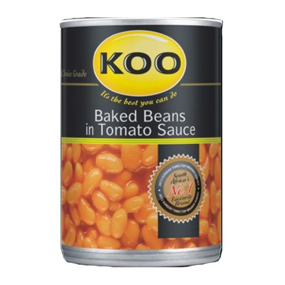 KOO Baked Beans in Tomato Sauce