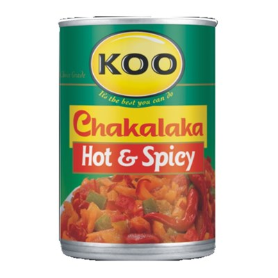 KOO Chakalaka - Hot & Spicy