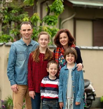 David and Beck McIntyre (plus Alyssa, Natasha and Mitchell)