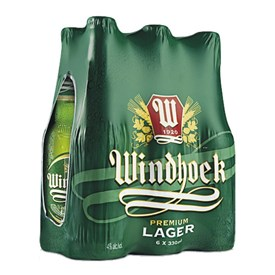 Windhoek Lager - 6 Pack