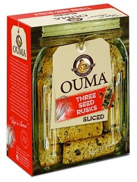 Ouma Breakfast Rusks - Three Seeds