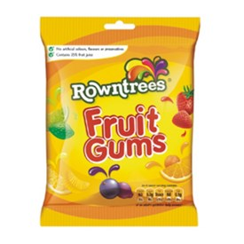 Rowntree's Fruit Gums  - Bag