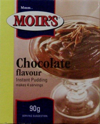 Moirs Instant Pudding - Chocolate