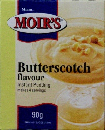 Moirs Instant Pudding - Butterscotch