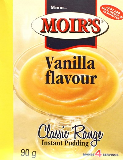 Moirs Instant Pudding - Vanilla