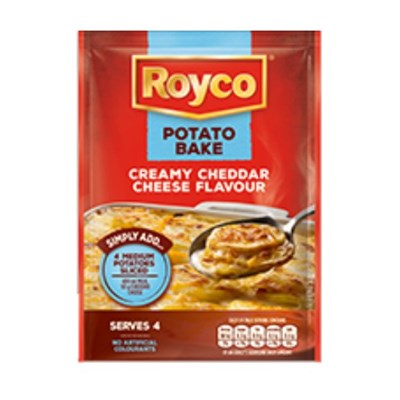 Royco Potato Bake Creamy Cheddar Cheese