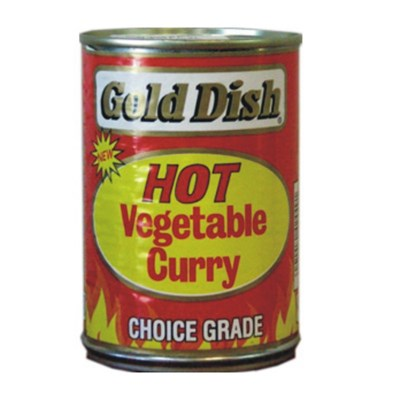 Gold Dish Hot Vegetable Curry