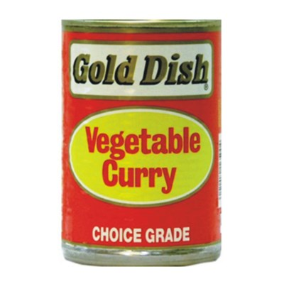 Gold Dish Vegetable Curry