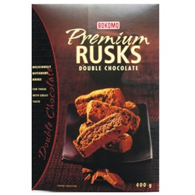 Bokomo Double Chocolate Rusks