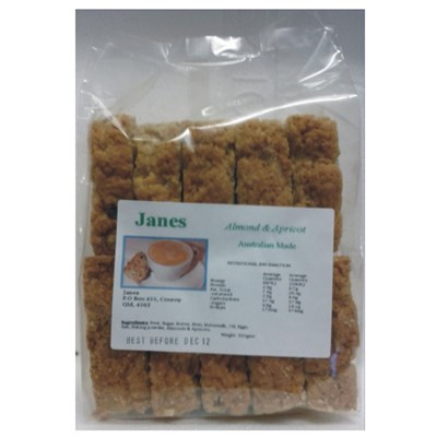 Jane's Rusks - Almond & Apricot