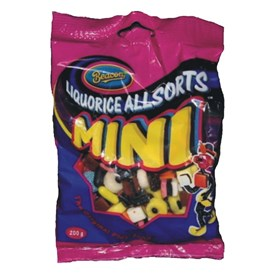 Beacon Liquorice Allsorts Mini 200g