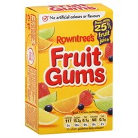 Rowntree's Fruit Gums  - Box