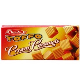 Wilson's Toffo Cream Caramels