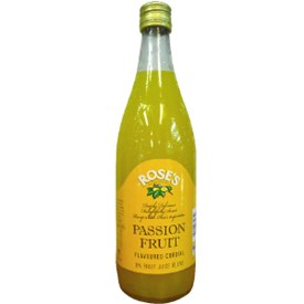 Rose's Passionfruit Cordial