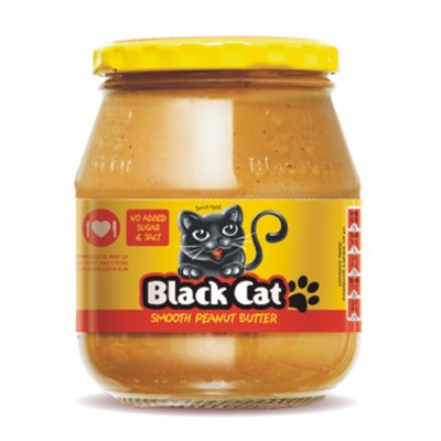 Blackcat Peanut Butter - Smooth (no salt)