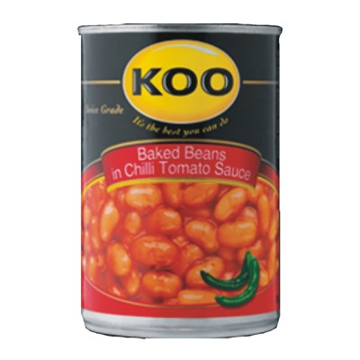 KOO Baked Beans in Chilli Sauce